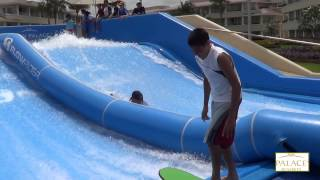 FLOW RIDER,,super caidas    divercion en MOON PALACE  cancun Quintana,roo