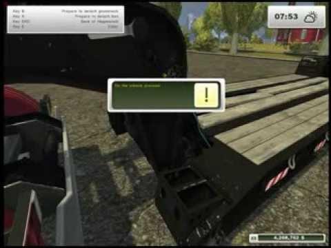 Farming Simulator 2013 Mods Magnitude 55 lowboy