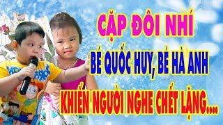 2 Thần Đồng Âm Nhạc Nhí Hát Bolero Cực Hay   Bé Quốc Huy 6 Tuổi, Bé Hà Anh 4 Tuổi