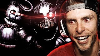 INTO THE UNDERGROUND...   JOLLY 3 Night 5 Gameplay Ending + EXTRAS! - FNAF SL Fan Horror Game