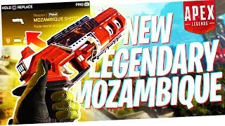 Trying the NEW Legendary Mozambique in RANKED! - Road to Apex Predator Ep. 2!