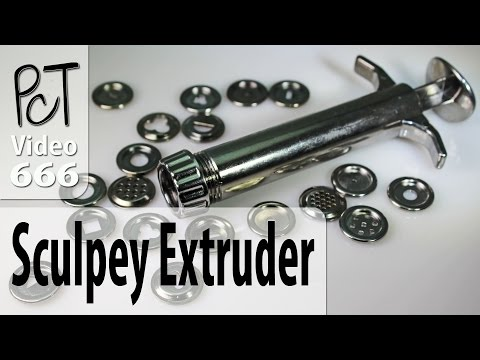 Sculpey Clay Extruder Unboxing And Review
