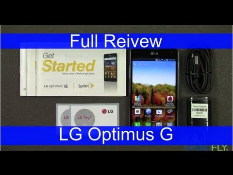 Sprint LG Optimus G Smartphone Full Review By Wirefly