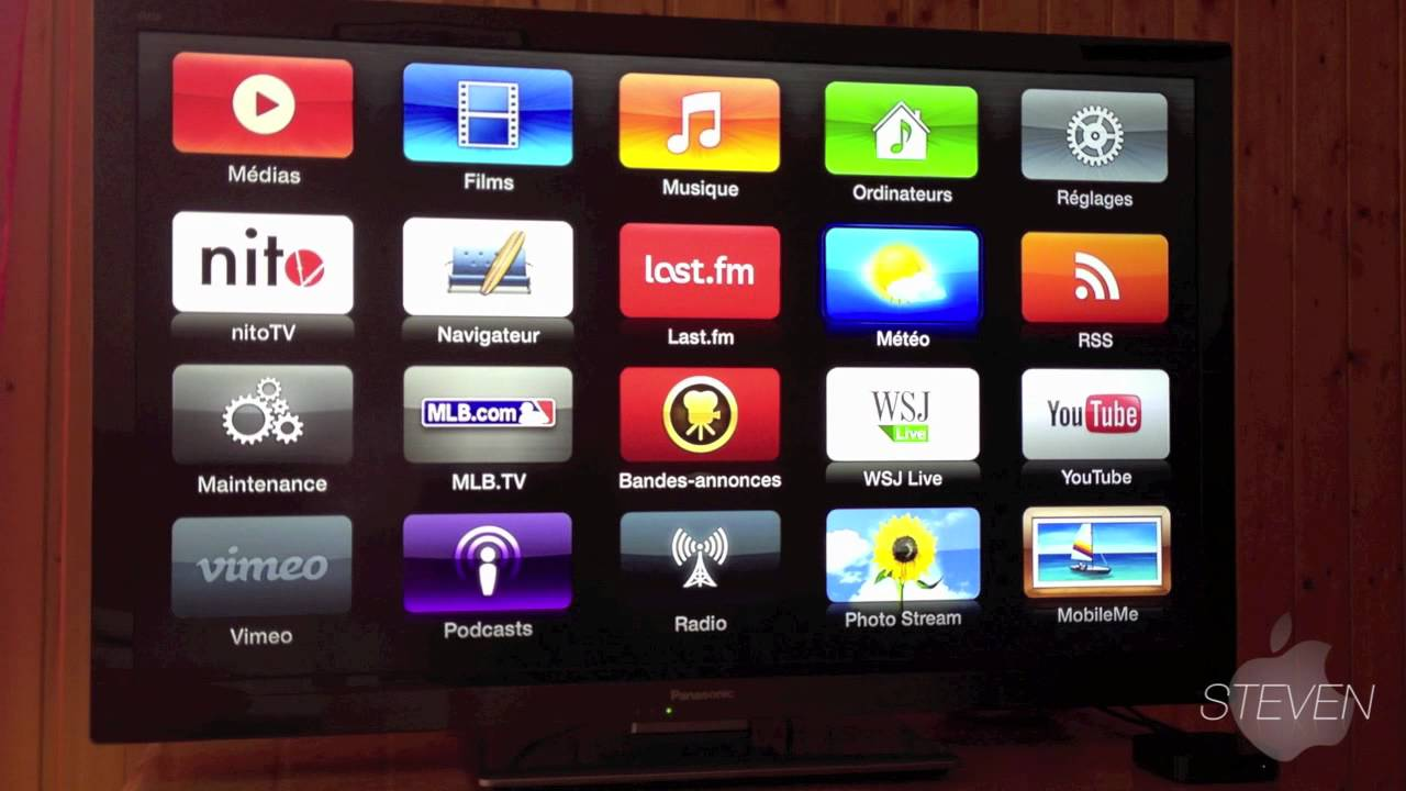 how to use firecore apple tv 2