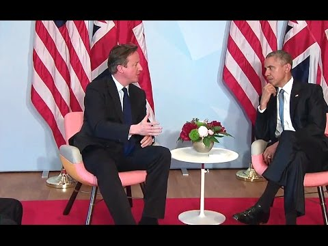 President Obama's Bilateral Meeting with Prime Minister Cameron of the United Kingdom