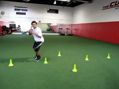 0 Mark Sanchez QB Footwork Drill