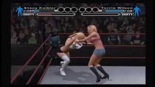 WWE SvR Bra & Panties Match Torrie Wilson vs Stacy Kiebler