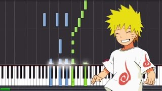 "Naruto Shippuden ""Preview Theme Ep.480"" - Piano (Synthesia Tutorial) // Magical Piano"