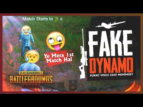 PUBG MOBILE | FAKE DYNAMO IS HERE | FIRST TIME PLAYING PUBG MOBILE