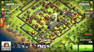 Savage 8.9 TH9 attacks and 50%s a Legend & Other TH9 Attacks