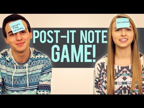 Post-it Note Game