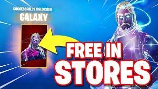 How to get the GALAXY for FREE!! *STORE METHOD*