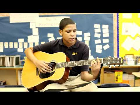 Mott Hall III Rockstars: Joel Cruz Performs Jason Mraz