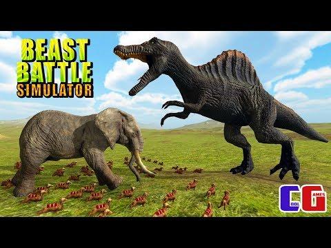 ЭПИЧЕСКИЕ БИТВЫ ЖИВОТНЫХ! Мульт игра СИМУЛЯТОР БОЕВЫХ ЗВЕРЕЙ Beast Battle Simulator
