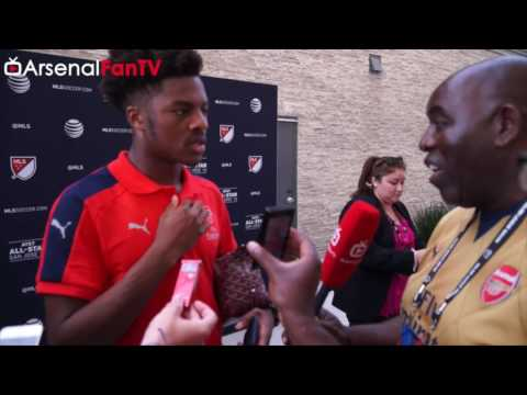 Arsenal 2 MLS All Stars 1 | We Really Wanted To Win says Chuba Akpom