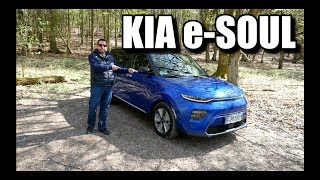 KIA e-Soul - It's Electric! (ENG) - First Test Drive and Review