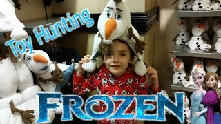 Disney Frozen Store Shopping at Hollywood Studios Anna Elsa Olaf and More