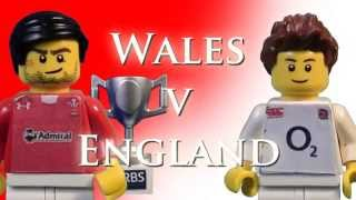 Six Nations Decider 2013 in LEGO