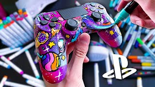 EPIC CUSTOM PS4 CONTROLLER ... 🚀🎨 (Giveaway)