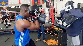 Inventor Creates Boxing Robot