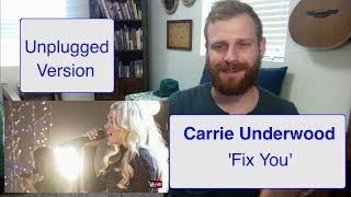 Download Lagu Carrie Underwood - Fix You | Reaction Gratis STAFABAND