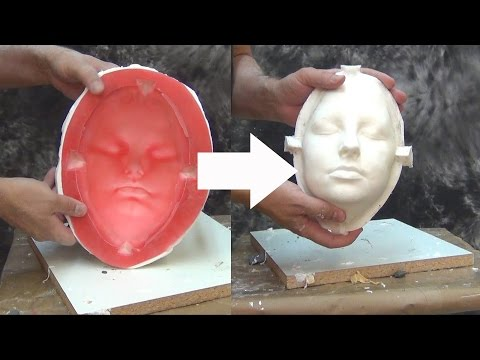 Moldmaking Lifecasting Tutorial: Molding A Lifecast Positive With Gel-25