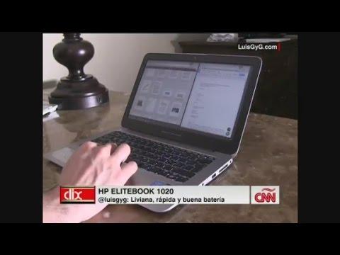 En CNN Clix Luis GyG pone a prueba elite book de hp