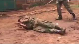 NYS officer being beaten and humiliated by his senior official.