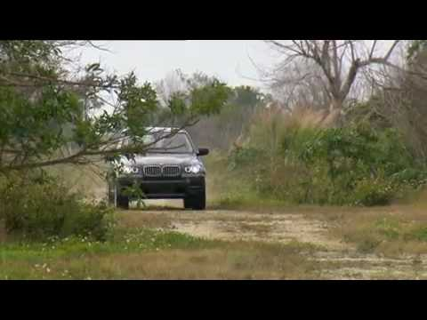 New BMW X5 xDrive35d 2011 Off-road Driving Video