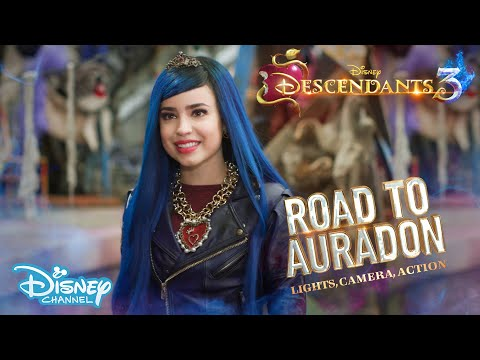 Descendants 3 | BEHIND THE SCENES: Road To Auradon - Lights, Camera, Action