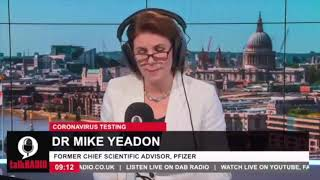 Video: The COVID PCR Test does not identify the Virus. It is Useless! - Mike Yeadon (talkRADIO)