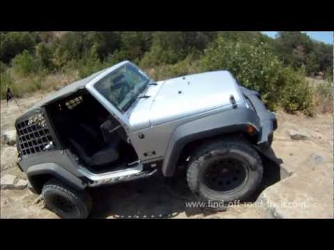Off Road 4X4 Action! Jeep Wrangler JK and TJ's Rubicon and Unlimited's On The Rocks