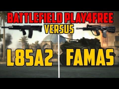 BFP4F VERSUS - L85A2 vs FAMAS