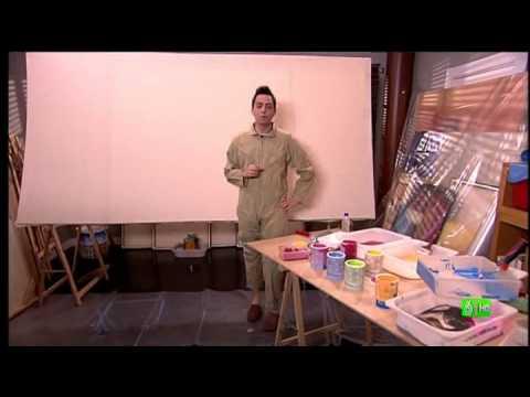 Slqh david te ense a a pintar un cuadro de arte moderno youtube - Como pintar un salon moderno ...
