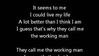 Watch Rush Working Man video