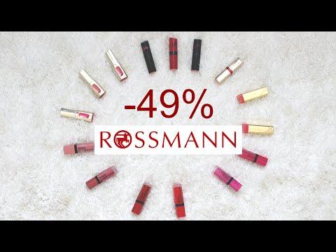 Co Kupić Na Promocji W Rossmannie -49%? Pomadki, Błyszczyki, Konturówki, Lakiery Do Paznokci