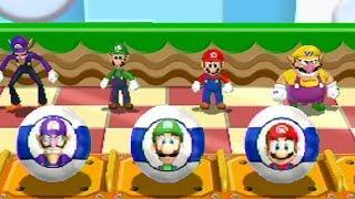 Mario Party 9 - All Goofy Minigames