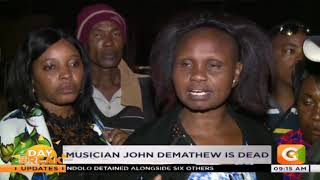 Kikuyu musician John De mathew dies after a road accident