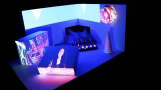 Kelly Rose & R!OT - Old Habits (Launchpad w/ 3D Projection Mapping)