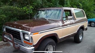 1979 Ford Bronco 351 4x4 100% ORIGINAL