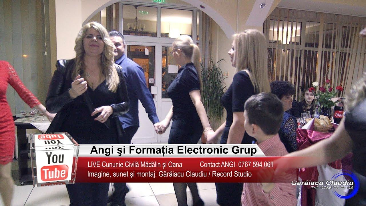 Angi si Electronic Grup   Colaje HORA, ASCULTARE LIVE   Madalin si Oana   Muzica de Petrecere