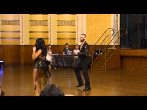 2015 Australian Bachata Championship - Pro/Am Couple - Jefferson and Romina