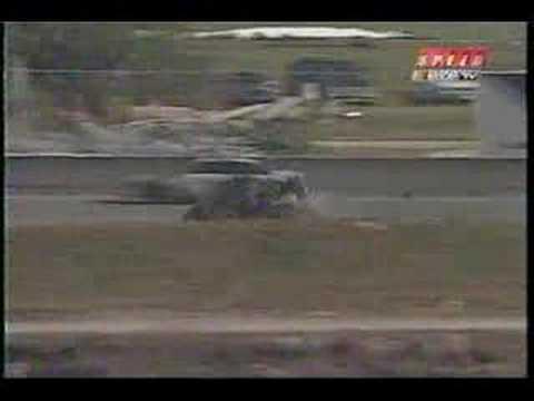 Rusty Wallace's flip at Daytona