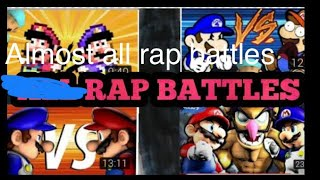 All WOTFI Rap Battles (2015-2018)