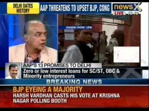 Delhi polls 2013: Moderate to brisk voting till around noon - NewsX