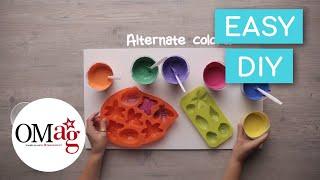 DIY Colorful Chalk | OMaG | American Girl