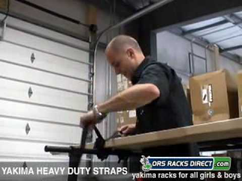 0 Yakima Rack Straps Video Demo by ORS Racks Direct