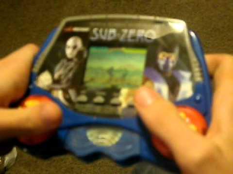 mortal kombat mythologies   tiger electronics handheld lcd game youtube