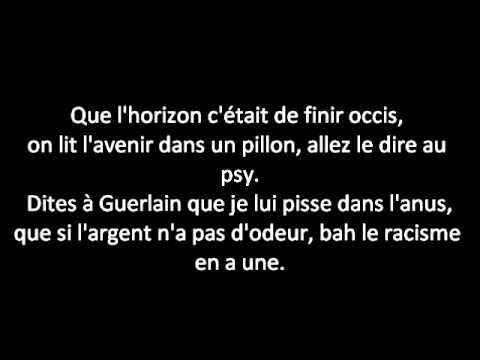 Dis leur 2011- SINIK (Lyrics)