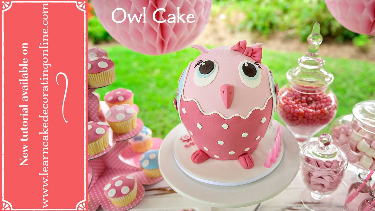 28 learn cake decorating at home make a teapot cake learn learn cake decorating at home make an owl cake with learn cake decorating online youtube